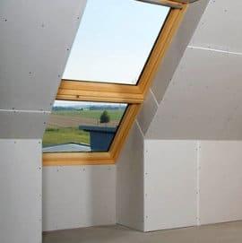 Innenausbau im Dachgeschoß
