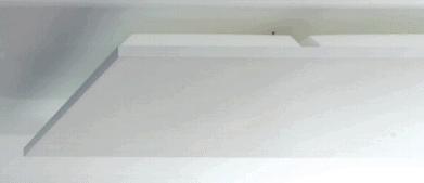 Deckensegel mit Breitbandabsorber