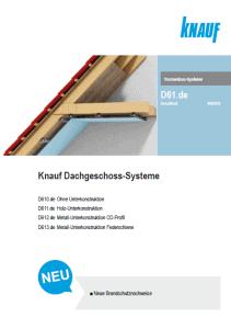 Dachgeschoss-Systeme
